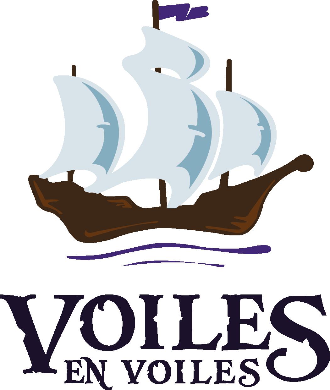 Logo Voiles en Voiles