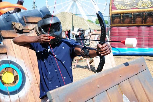 Combat d'archer